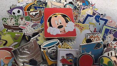 Disney Trading Pins_100 Pin Lot_Free Priority Mailing_No Duplicates_Mixed Lot