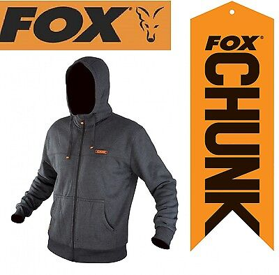 Fox Chunk Heavy Hoody Black Marl Jacke