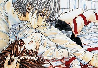 Matsuri Hino VAMPIRE KNIGHT LaLa Japan Zero & Yuki Furoku Postcard Post Card