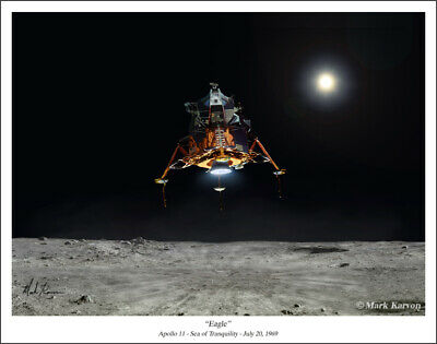 Collectibles 2019 Latest Design Apollo 16 John Young On The Moon 8x10 Silver Halide Photo Print Astronauts & Space Travel
