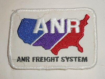 Vintage ANR Freight trucking truck driver patch FREE SHIPPING
