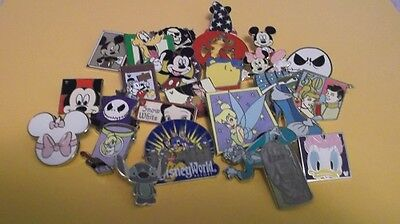 Disney Trading Pins_25 Pin Lot_Free Shipping_No Doubles_100% Tradable_AC2