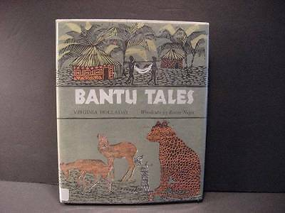 1970-Bantu Tales From the Congo by Virginia Holladay/Louise Crane w/DJ