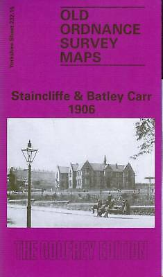 Old Ordnance Survey Map Staincliffe & Batley Carr 1906
