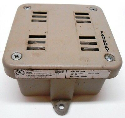 Faraday, Surface Horn, 6114, 120 Volts, 0.084 Amp