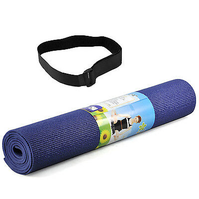 TRIXES Tapis De Yoga Exercice Fitness Gym Sport Physio Pilates Massage Camping