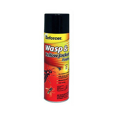 New Enforcer FWH-16 Yellow Jacket Wasp Control Foam Spray, 16-Ounce