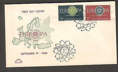 Luxembourg 1960 Europa cachet First Day Cover
