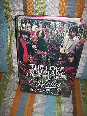The Love You Make An Insider's Story of The Beatles by Peter Brown Good book