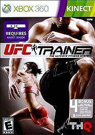 UFC Personal Trainer Ultimate Fitness System XBOX 360 KINECT NEW! MARTIAL ARTS