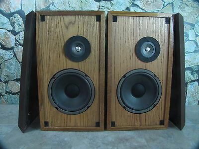 ALTEC MODEL ONE VINTAGE 70'S SPEAKERS 100% WORKING SET CLEAN SET GOOD CONDITION