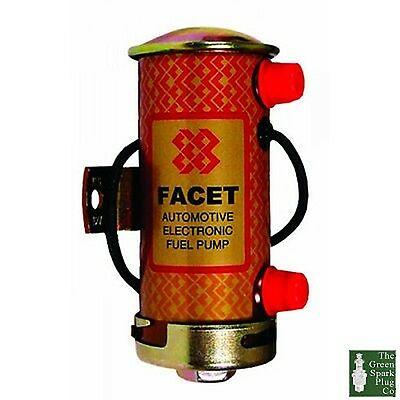 1x Facet 476087 Silver Top Cylindrique Pompe Carburant (STS504)