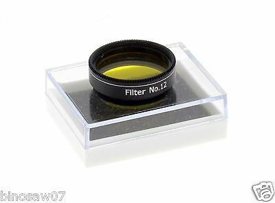 "OSTARA YELLOW #12 Filter 1.25"" Fitting High Quality Stackable"