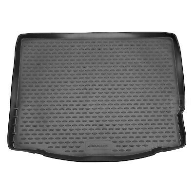 Ford Focus Mk.3 11-17 Rubber Boot Liner Tailored Fitted Black Floor Protector