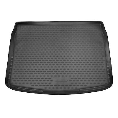 Nissan Qashqai 14-17 Rubber Boot Liner Tailored Fitted Black Floor Mat Protector