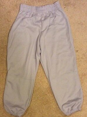 Dark Gray Soffe Baseball Pants Size Adult Gently Used Large L