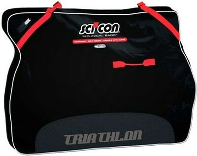 SCICON Travel Plus Triathlon Bike Travel Case Black
