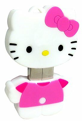 NIP Hello Kitty 4 GB USB Flash Drive, Pink and White, Licensed by Sanrio
