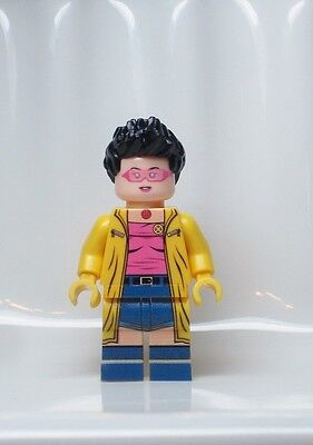 A1108 Lego CUSTOM PRINTED X Men Force INSPIRED JUBILEE MINIFIG Wolverine Rogue