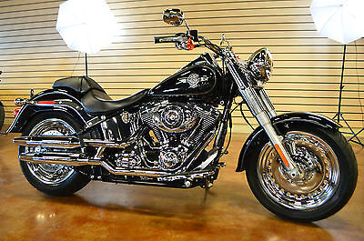 Harley-Davidson : Softail Harley Davidson Softail Fat Boy FLSTF 2014 Clean Title Like New Only 360 Miles