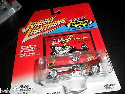 JOHNNY LIGHTNING THE LOST TOPPERS THE ONES THAT NEVER WERE SKINNI MINI CAR COOL