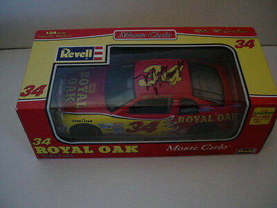 1/24 Revell Royal Oak # 34 with Autograph - Mike McLaughlin