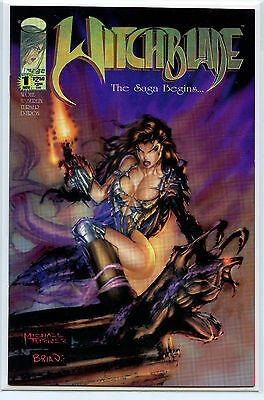 Top Cow Image Comics Witchblade #1 Michael Turner NM+/Mint New 1995 Book H9