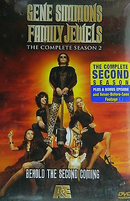 GENE SIMMONS Family Jewels COMPLETE 2nd Season 23 Episodes SEALED 3-Disc DVD Set