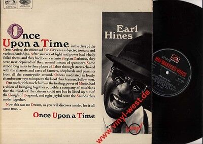 LP Earl Hines - Once Upon A Time HIS MASTER VOICE CLP 3560..CLARK TERRY..