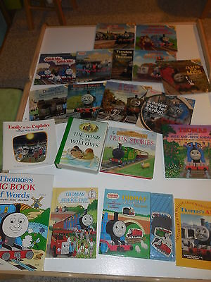 20 Books,Thomas Tank Engine, signed book by Noelle Hall, Usborne, Wind in Willow