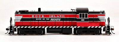 Bachmann HO Scale Train Diesel Alco RS-3 DCC Equipped Rock Island #493 64209