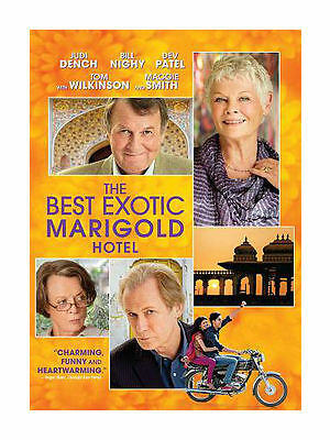 THE BEST EXOTIC MARIGOLD HOTEL (Blu-ray Disc, 2012) New / Factory Sealed