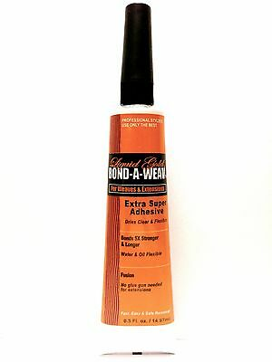 LIQUID GOLD BOND-A- WEAVE EXTRA SUPER ADHESIVE FOR WEAVES & EXTENSIONS 0.5oz