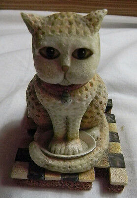 LANG & WISE 1st Edition DMK #1 CATS LOGO 1999 Figurine D. Masters Kriebel GRACIE