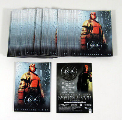 Lot of (50) 2004 Inkworks Hellboy Movie Promo Card (P1) Nm/Mt