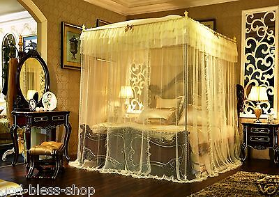 mosquito net bed netting arch European style canopy frame summer net queen size