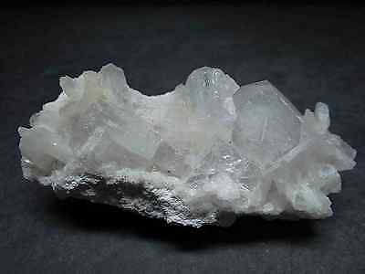 Apophyllite Stilbite on Chalcedony Natural Crystal Cluster India Mineral  74609