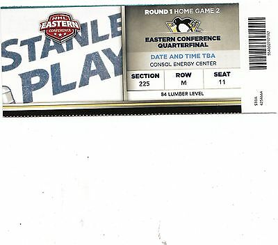 2014 PITTSBURGH PENGUINS VS COLUMBUS BLUE JACKETS TICKET STUB GAME #2 PLAYOFFS