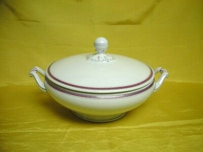Antique Christine Covered Casserole Bowl Heinrich China Selb Germany Mint Old