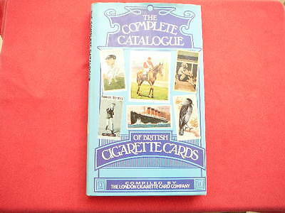 THE COMPLETE CATALOGUE OF BRITISH CIGARETTE CARDS  1981 HARD BACK W/ DUST JACKET