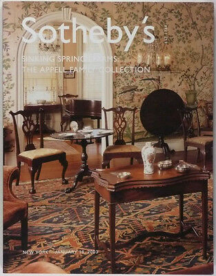 ANTIQUE AMERICAN FURNITURE + AMERICANA ANTIQUES APPELL COLLECTION Sotheby's 2003