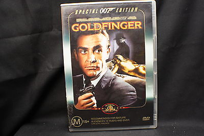 007 GOLDFINGER *Sean Connery - REGION 4 (SPECIAL EDITION) dvd