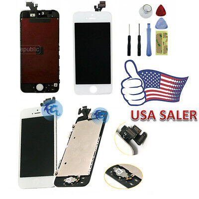 OEM LCD Display + Touch Screen Digitizer Assembly Parts Replacement For iPhone 5