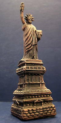 Vintage Cornell Creations Statue of Liberty Souvenir Metal Building 6 usa made
