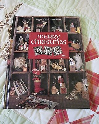 Merry Christmas ABC Christmas Remembered Book #6 Counted Cross Stitch H/C