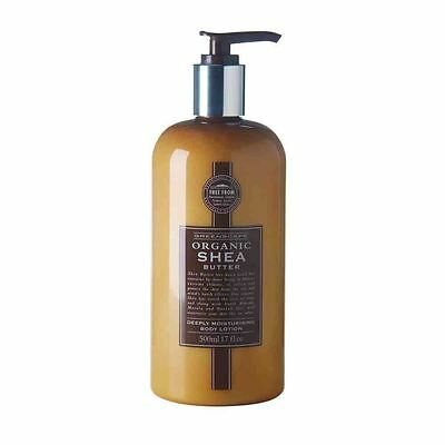 Greenscape Organic SHEA BUTTER Natural Deeply Moisturising Body Lotion 500ml