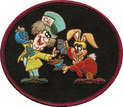 Walt Disney's Alice in Wonderland Mad Hatter and March Hare Patch, NEW UNUSED