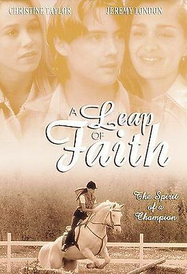 LEAP OF FAITH DVD MOVIE JEREMY LONDON CHRISTINE TAYLOR UNRATED FREE SHIPPING