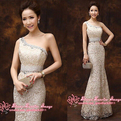 Wedding dress Bride gown Formal Evening Prom Party Bridesmaids Dresses Ballgown