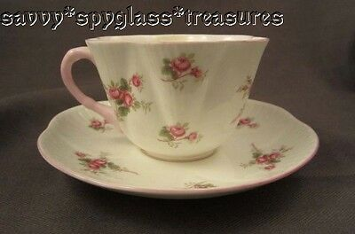 Beautiful Shelley Dainty Shape Bridal Rose Cup and Saucer Set